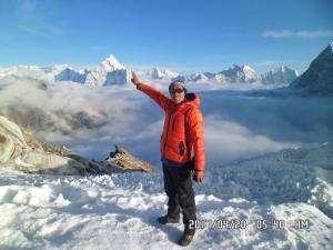 Mount Everest Beautiful Scenery