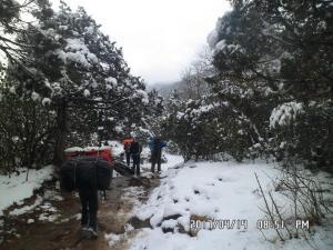Way to Everest Peak Nepal