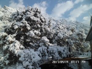 Way to Lobuche Peak
