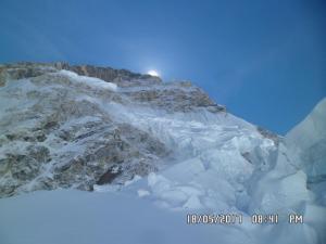 sunrise view form Everest Base camp 3